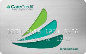 Lakewood Ranch dentist care credit card logo